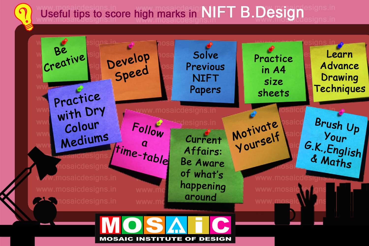 preparation of nift entrance