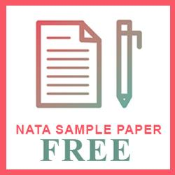Nata Sample Papers 2019