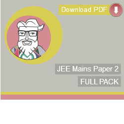 JEE Mains Paper 2 Full E-Book Pack