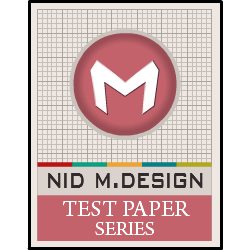 NID Test Papers Series 2018 M.Design DAT