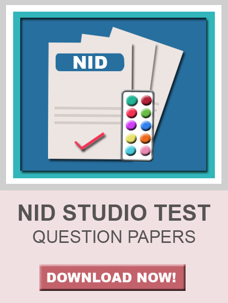 NID Studio Test Papers