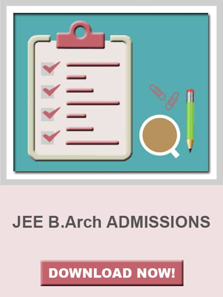 JEE B.Arch Admission