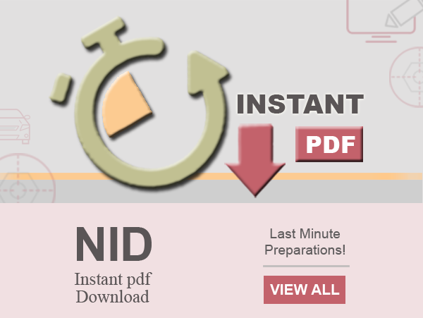 NID Instant Pdf Download