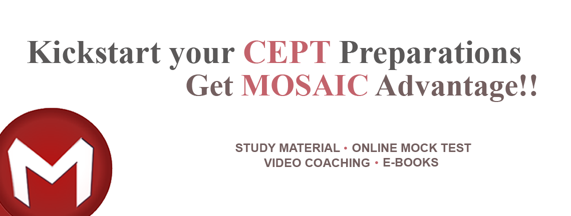 Kickstart your cept Preparation Get Mosaic Advantage!