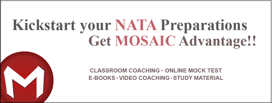 Kickstart your nata Preparation Get Mosaic Advantage!